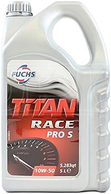 Fuchs Titan Race Pro S 10W-50 Ester - Aceite de motor sintético (5 ...