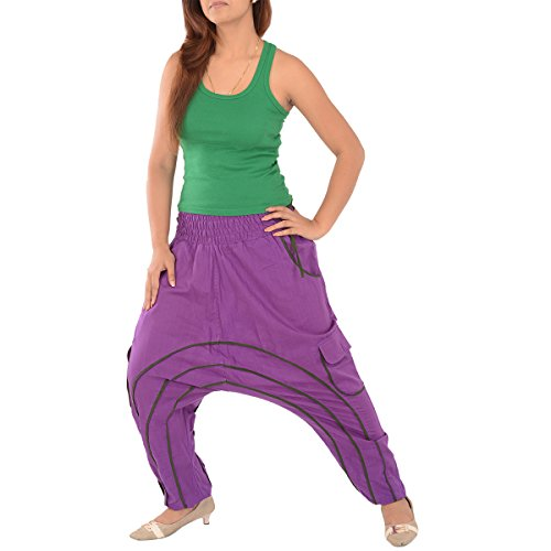 Skirts & Scarves Womens Cotton Afghani Yoga / Harem Pant / Pajama (Green)