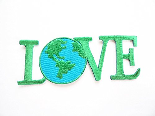 1x-green-love-the-planet-save-the-world-iron-on-patch