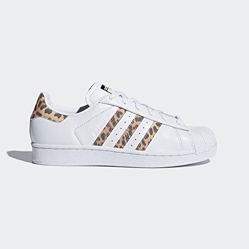 adidas Originals Women's Superstar W Sneaker, FTWR White, Supplier Colour, Core Black, 9 M US by adidas Originals (Image #2)