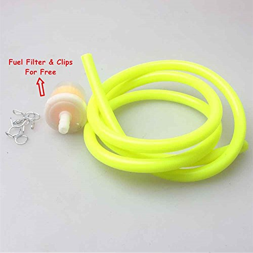 5mm Inner Dia Colorful Motorcycle Performance Yellow (5 Mm Hose)