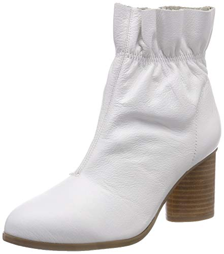 Women's Ankle Leather White Bianco Boot 800 White zdRzqw
