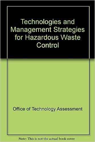 Download google books free ubuntu Technologies and Management Strategies for Hazardous Waste Control PDF 0894642170