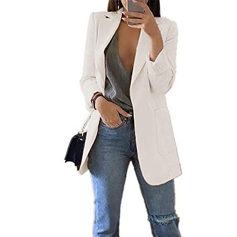 WHBDFY Brand Fashion Slim Blazers Mujer Otoño Traje Chaqueta Mujer ...