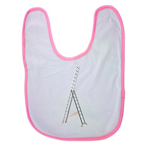 Pink Baby Bib With Aluminium Triple Section Extension Lad...