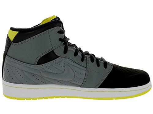 Nike Air 1 Retro '99 Cool Grey / vbrnt yllw / Schwarzes / weiÃ?e Basketballschuh 11 Us