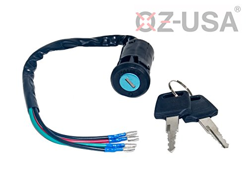 Key Ignition Switch OZ-USA On Off Motorcycle Dual Sport Dirt Bike ATV Universal Super Moto MX by OZ-USA