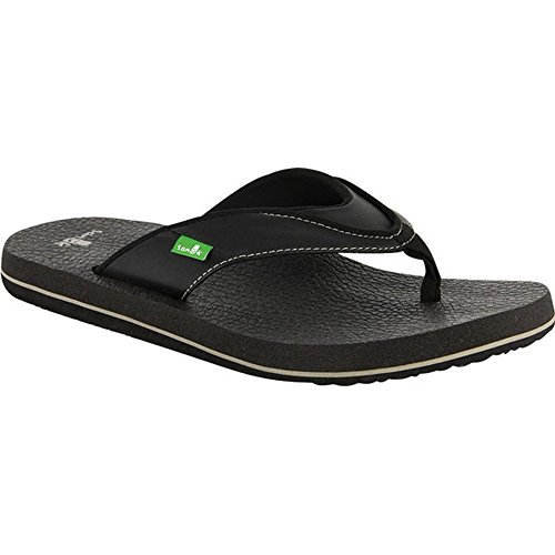 Sanuk Beer Cozy Sandal - Men's Sandals 8 Black