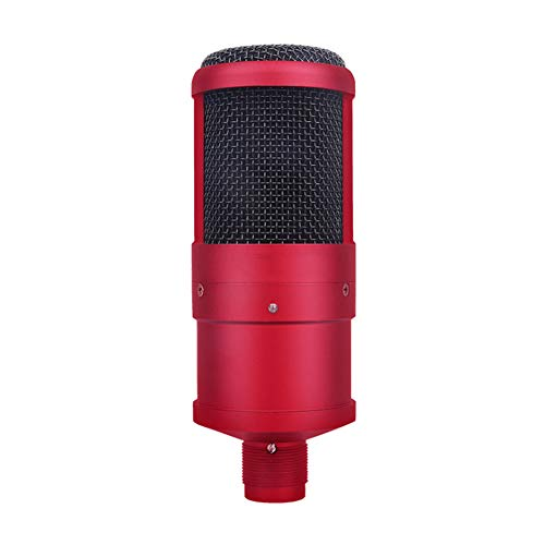 (LuYi-Ww Supercardioid Condenser Microphone,Single Channel Wired Intelligent Noise Reduction with Microphone Cable for PC Desktop Laptop for Online Chatting, Recording, Gaming, Podcasting)