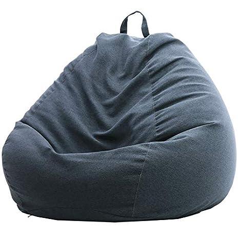 Miraculous Amazon Com Easy Padded Floor Chair Beanbags Large Gaming Spiritservingveterans Wood Chair Design Ideas Spiritservingveteransorg