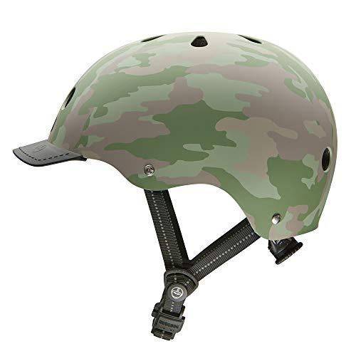 Nutcase - Solid Street Bike Helmet for Adults, Surplus Matte, Medium