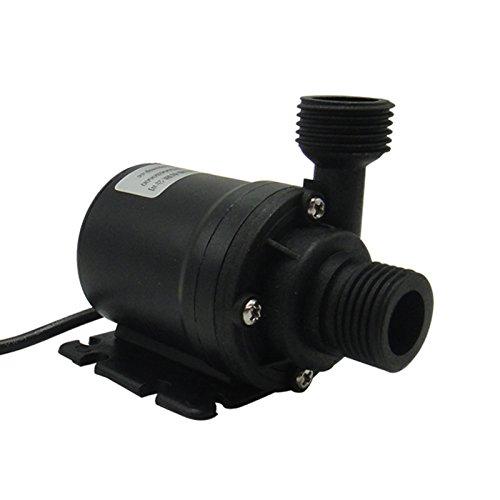 Sunsbell Pompe di circolazione 800L / H 5m DC 12V Solare Brushless Motor Acqua Pompa sommergibili Acqua