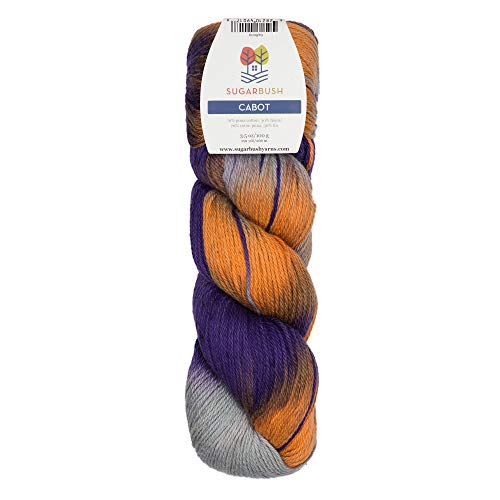 High Quality Linen Yarns - Sugar Bush Yarn Cabot Double Knitting Weight, Serenity Lane