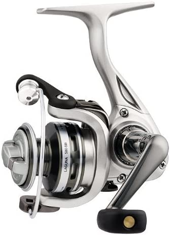 Daiwa LAG500-5Bi-CP Test Spinning Fishing Reel, 2-6 lb, Silver by ...