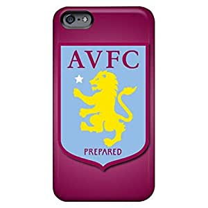 Hot Style cell phone carrying covers Iphone Hard Cases With Fashion Design First-class iphone 6 4.7 /6 4.7s - aston villa fc