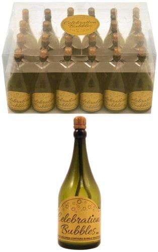 24 Champán Botella BODA burbuja Detalles Fiesta Decoración De Mesas Confeti
