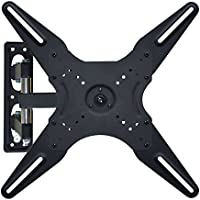 TV Wall Mount Bracket-GET Full Motion Swivel Tilt Articulating TV Wall Mount Bracket for Most 17-42 Inches LED, LCD, OLED and Plasma Flat Screen TVs, VESA Space Up to 400x400mm, Support Up to 45 lbs