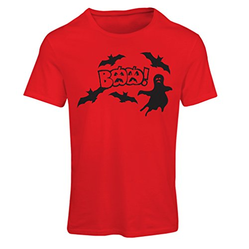 (T Shirts for Women BAAA! - Funny Halloween Costume Ideas, Cool Party Outfits (Large Red Multi)