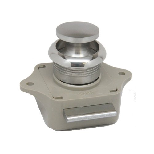 Sea-Dog Line Push Button Rim Latch, push button rim latch ss plastic