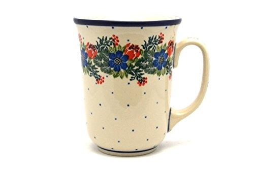 Party Garden Stoneware (Polish Pottery Mug - 16 oz. Bistro - Garden Party)