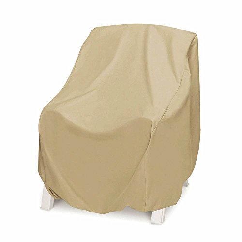 (Two Dogs Designs 2D-PF38365 Chair Cover With Level 4 UV Protection, Oversize, Khaki)