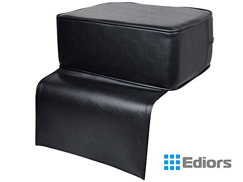 Ediors Black Barber Beauty Salon Spa Equipment Styling Chair Child Booster Seat Cushion by Ediors