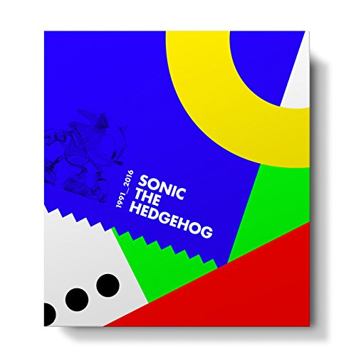 (Official Sonic the Hedgehog 25th Anniversary Art Book Collector's Edition)