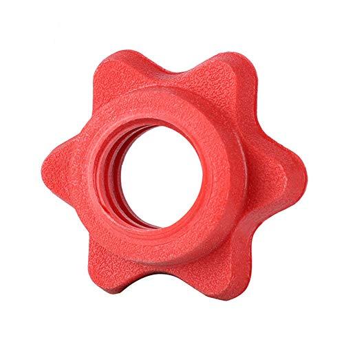 Hexagon Barbell Rotating Lock Collar Tornillo Abrazadera Mancuerna para Chapado Barbell Dumbbell Lifting Weight Gym…