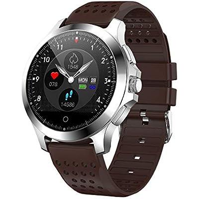Yuechenxin Ecg Smartwatch Sports Bracelet Ecg-Ppg Ecg-Ipg Ecg Ecg Ecg Report Heart Rate Blood Pressure Test Watch