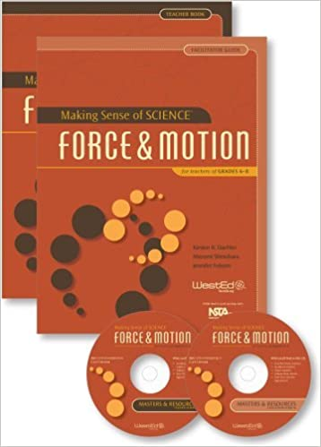 Book Making Sense of SCIENCE: Force and Motion for Teachers of Grade 6-8 by Kirsten R. Daehler Mayumi Shinohara Jennifer Folsom (2011-06-01)
