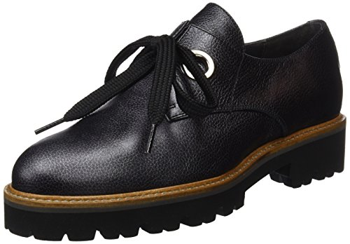 Derby Gadea Nero Donna Stringate Scarpe black Queen ttwqP0H