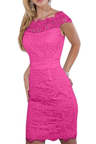 Promkleider Braut Etuikleider Abendkleider Gelb Pink Abschlussballkleider La Mini Knie von Oberhalb Kurz Ballkleider Spitze mia B5qcS8