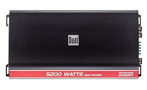 Dual DA8001 5200 Peak Watt Mono Channel Digital Amplifier by Dual Electronics (Image #3)