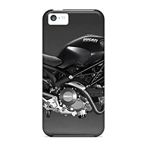 Hard Plastic Iphone 5c Case Back Cover,hot Ducati Monster 696 Case At Perfect Diy