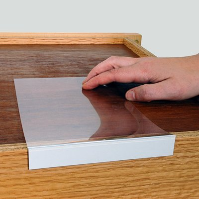 amazon com moveable shelf label holder 3 4 high x 5 label rh amazon com metal label holders for wood shelves shelf label holders wood shelves