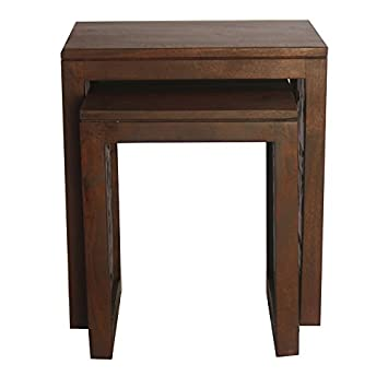 HomeTown Aamer Nesting Table (Walnut)