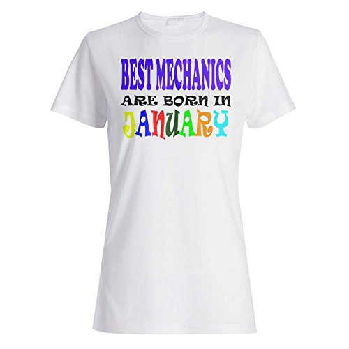BESTE MECHANIK SIND IN JANUAR LUSTIG GEBOREN Damen T-shirt v40f