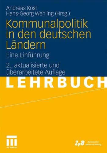 Kommunalpolitik in den deutschen Ländern: Eine Einführung