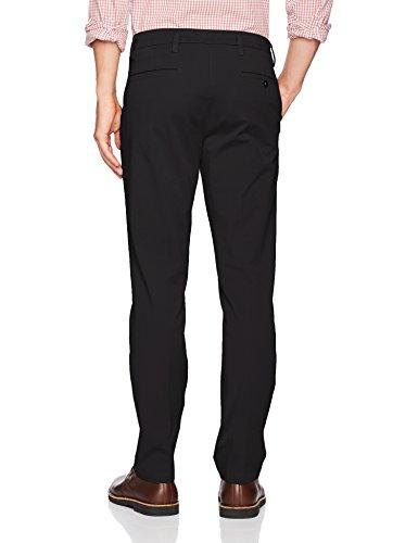 Smart Workday 28l Fit Khaki Pants stretch X Men's Slim 360 Tapered Black 28w Black stretch Dockers Flex I6xAYwt