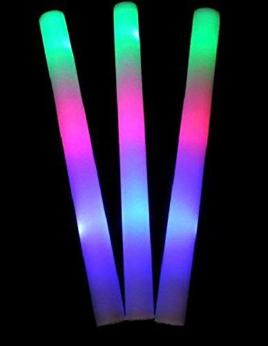 Light Up Foam Sticks - Lifbeier Light up Foam Sticks, 3