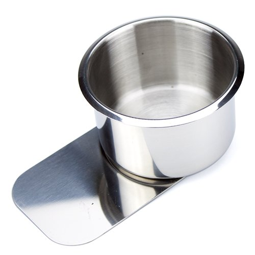Brybelly Holdings Gcup-004 Jumbo Stainless Steel Slide Under Cup Holder GCUP-004