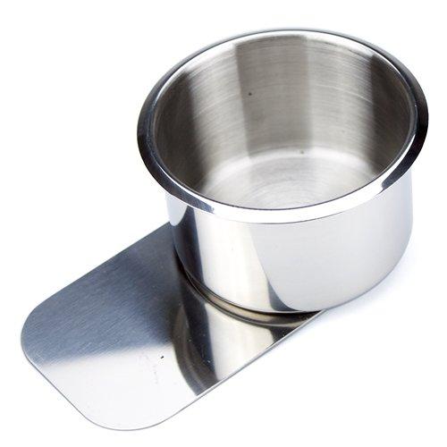 Brybelly Slide Under Stainless Steel Cup Holder (Jumbo)
