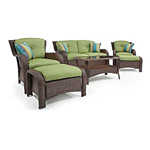 amazon patio furniture la z boy outdoor sawyer 6 resin wicker 10987