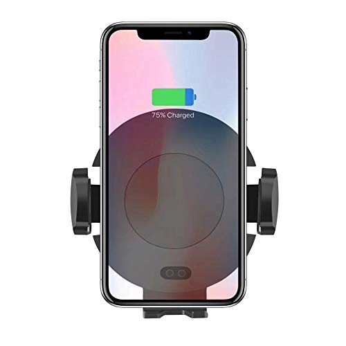 Price comparison product image Car Wireless Magnetic Charger Induction for Huawei Samsung Gravity Vent Qi Wireless Magnet Air Vent Holder Charger Dock Car Holder Pad / 4.0-6.2 inches