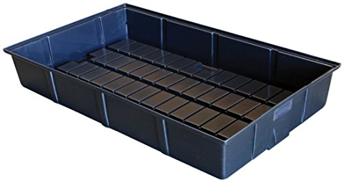 Botanicare Grow Tray, 2 by 4-Feet, Black
