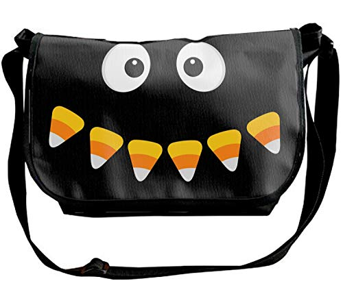Happy Halloween Scary Face Print Waterproof Unisex Casual Shoulder Bag Crossbody Bags]()