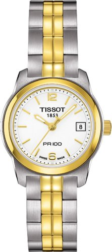 Tissot PR 100 White PVD Quartz Women's watch #T049.210.22.017.00