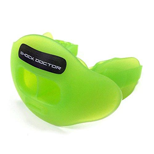 Shock Doctor 3300 Max Air Flow Lipguard, Trans Green, Adult