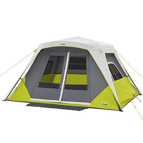 - CORE 6 Person Instant Cabin Tent with Awning