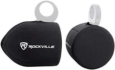 Rockville Neoprene Covers For MCM Custom Audio 60-10030 8 Wakeboard Speakers / Rockville Neoprene Covers For MCM Custom Audio 60-10030 8 Wakeboard Speakers